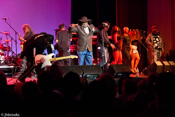 George Clinton at the Paramount