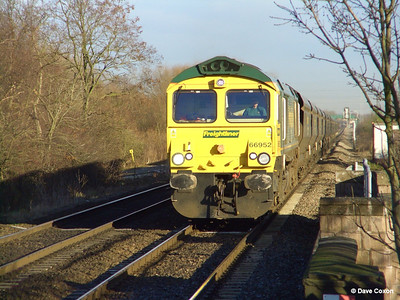 Dave's class 66 travels