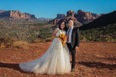 Maricela & Omar's Sedona Wedding