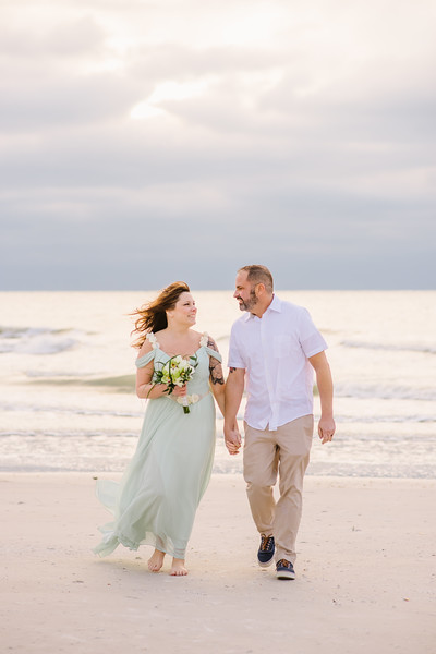 Indian Rocks Beach Florida Winter Wedding
