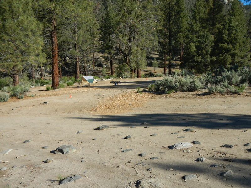 The guy in the lower site (Scott) had staked this area out for family that was arriving on Friday.