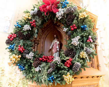 St. Stanislaus Church Christmas Decorations 2018