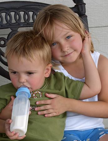 Amanda and Logan
