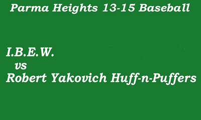 170715 Parma Heights Boy's 13-15 Baseball Game 1