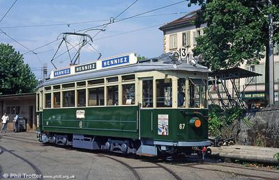 Geneva (CH) • Museum Trams