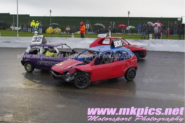 Micro Bangers, Northanpton International Raceway, 14 april 2012