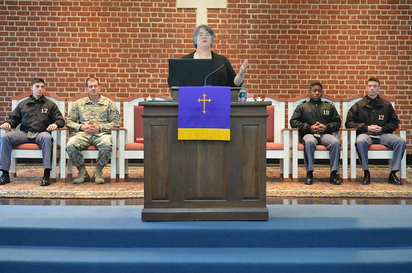 Ms. Jenny Payne Delivers Chapel Message