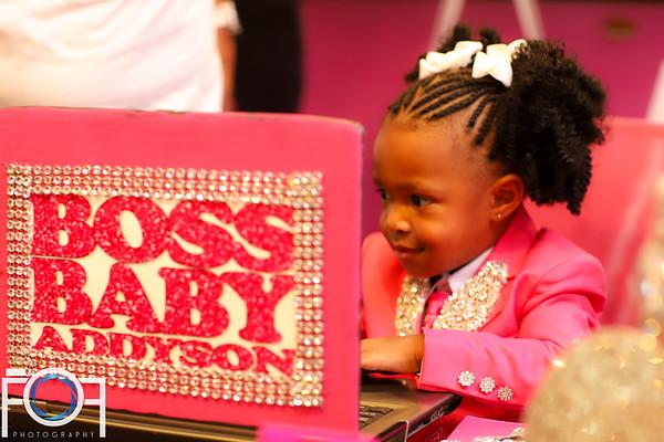 Boss Baby's Birthday Bash