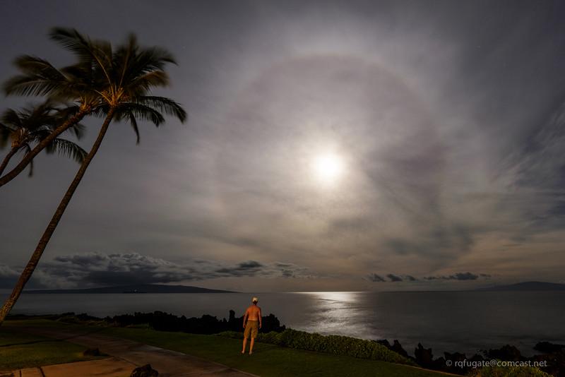 Maui Moon watcher