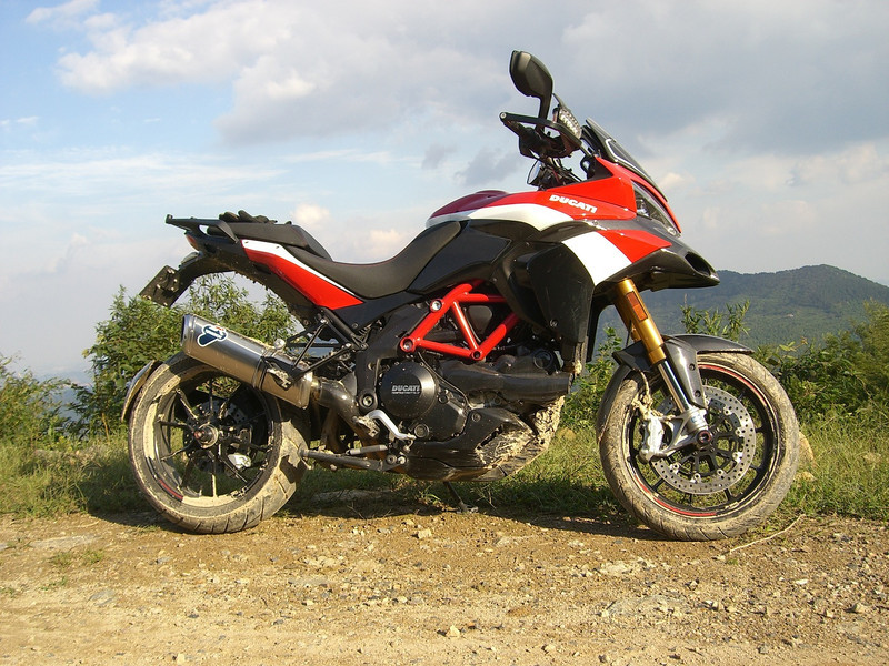"3/3: Multistrada 1200 Pikes Peak off road after a session in the mud! - by 'Butch' (China) - ""Anjii / Moganshan area in Zhejiang Province (my favorite playground 2 hrs. ride from Shanghai)"""