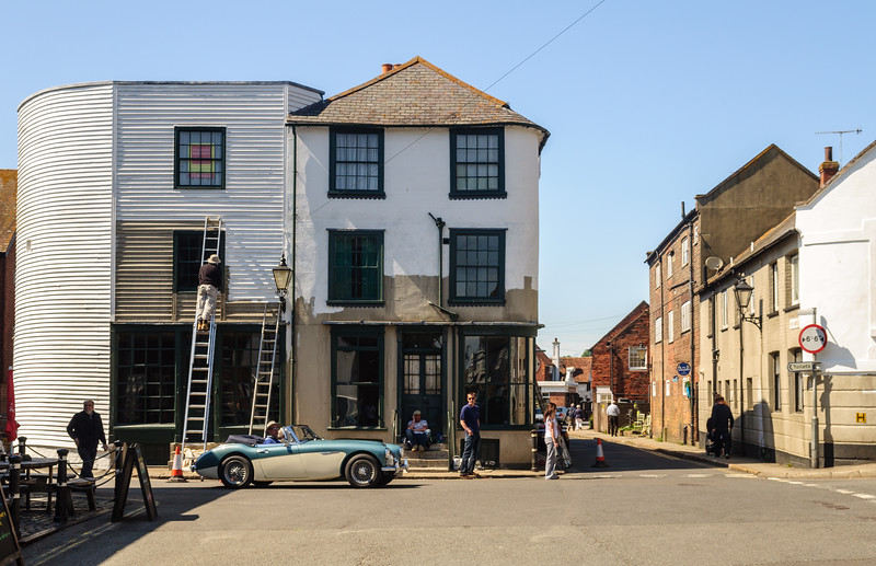 Streets of Rye in Sussex