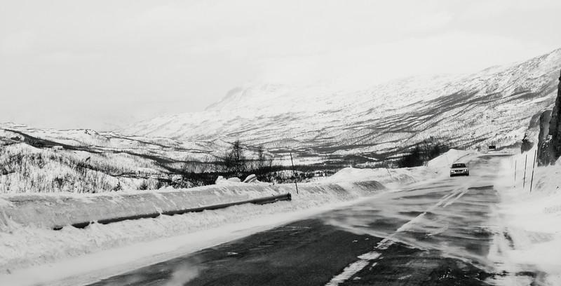The road from Kilpisjärvi