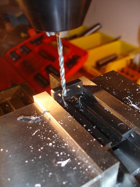 Modifying the laser mounting bracket