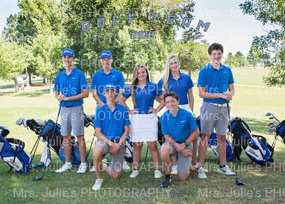 MCHS Golf Team 2018