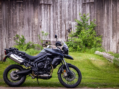 Tiger 800XC - first ride