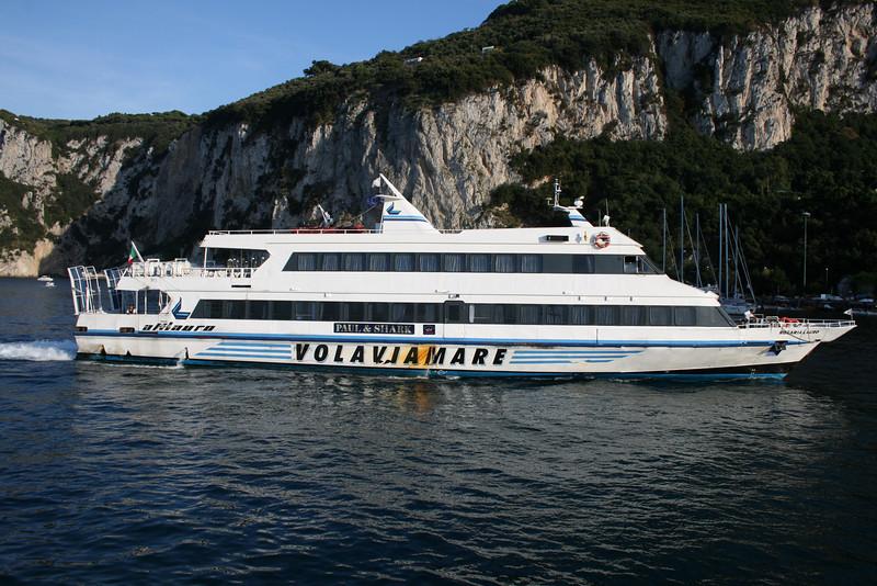 2008 - ROSARIA LAURO arriving to Capri.