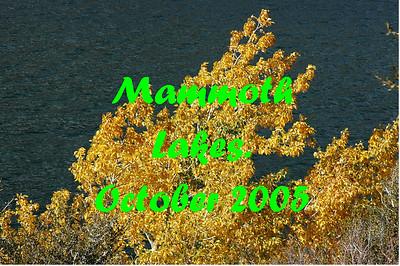 Mammoth & Yosemite October 2005