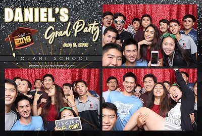 Daniel's Graduaton (MIni Open Air Photo Booth 2)
