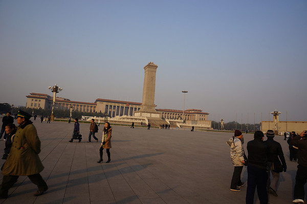Forbidden City and Tianenmen Square