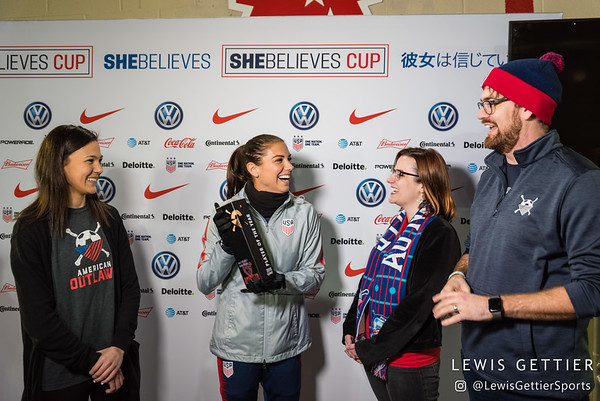 SheBelieves Cup Media and Training 3-1-2019