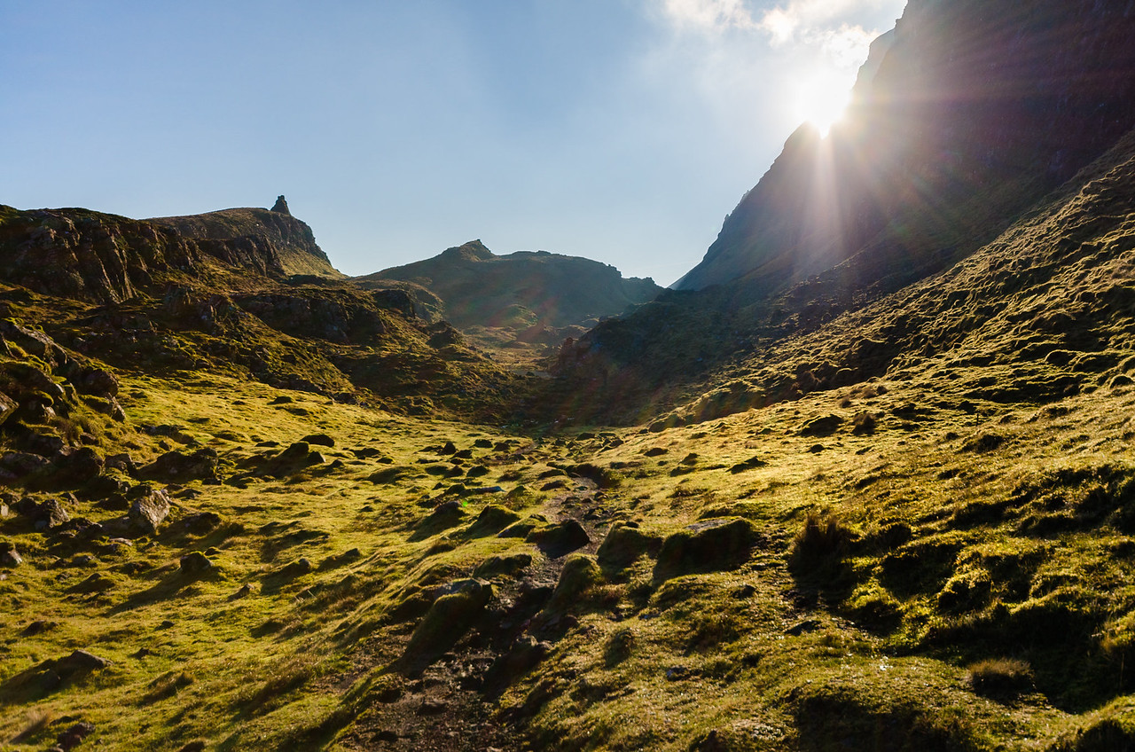 Boulder strewn valley | Hiking the Quiraing