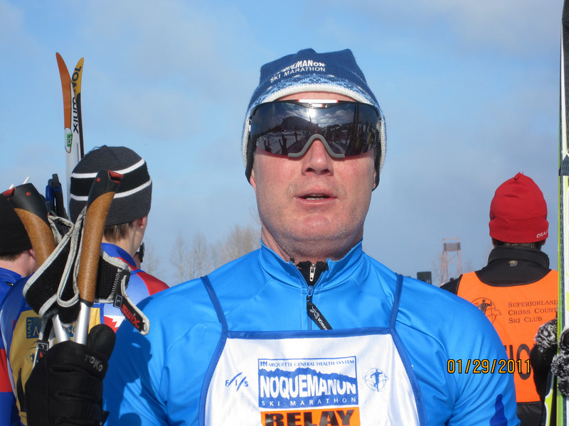 Mark Buday Straits Strider who partnered with Dave Irish for 2nd in the 51K Relay.