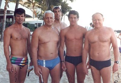 1987 Waikiki Roughwater Swim 9-7-1987
