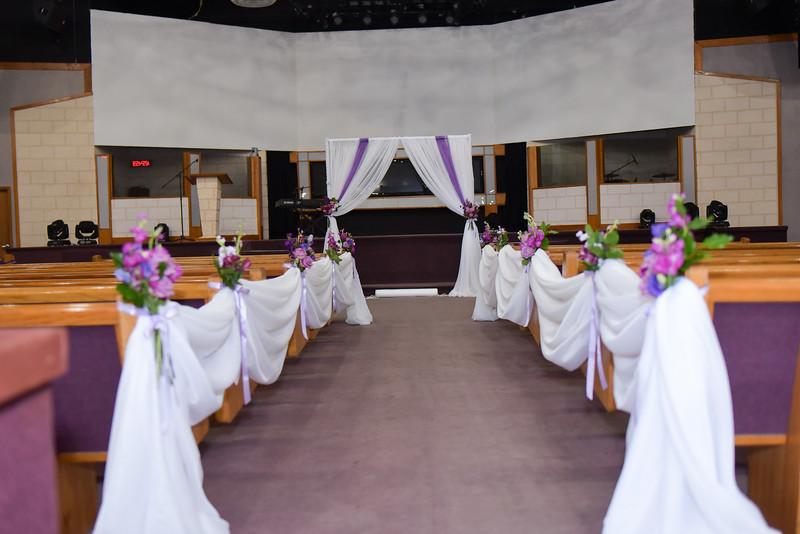 Candi Wedding Decor