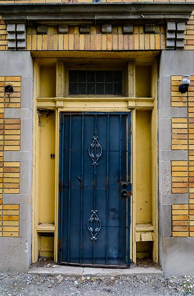Yellow Doorway, Sun Ya Building