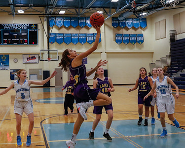 Girls Frosh Basketball at Yorktown 12/11/18