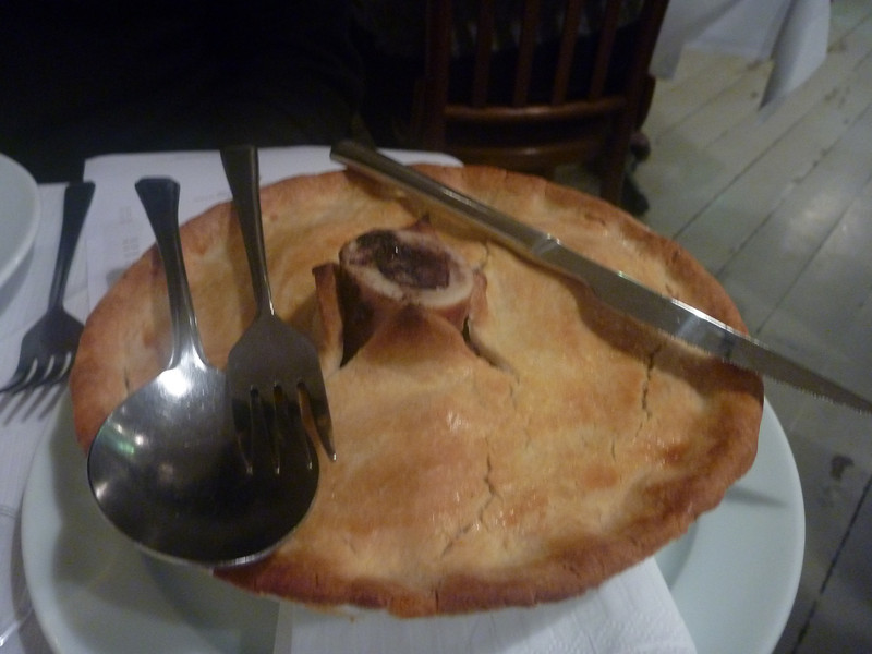 pheasant and trotter pie (for 2)