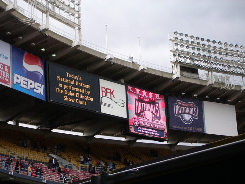 nats first exhibition game in RFK (10).jpg