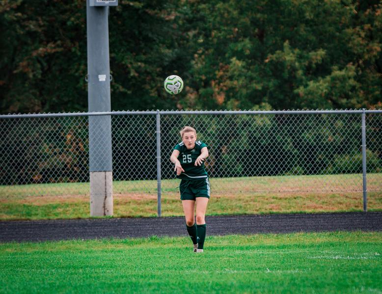 Holy Family Girls Varsity Soccer vs. Shakopee, 9/21/19: Kate Buchholz '24 (25)