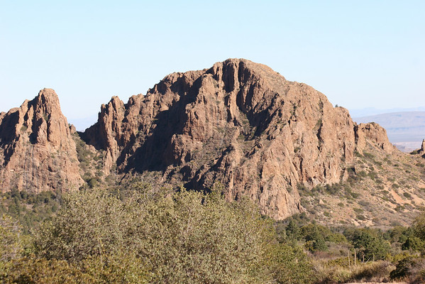 Chisos Basin Road 07