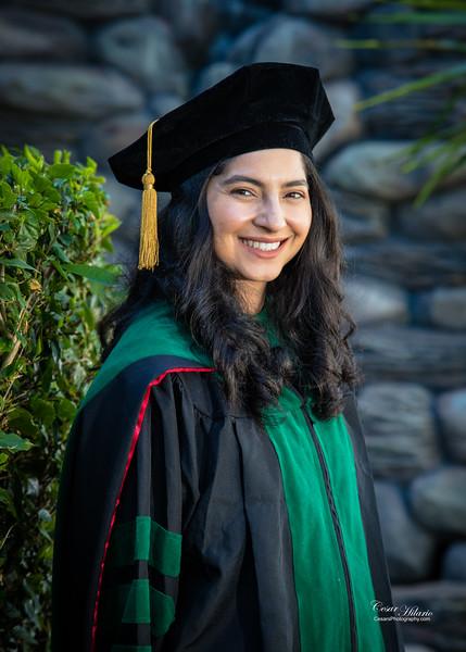In studio Graduation Portraits