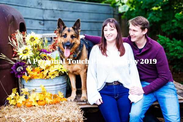 Katie and Steve's engagement pictures 2019