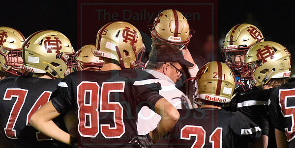 Mount Zion at Christian Heritage football 10/28/16