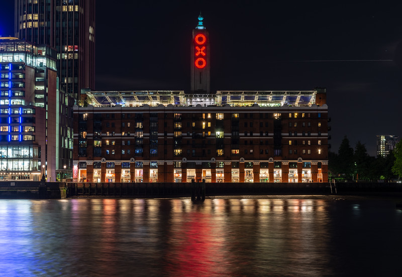 Oxo Tower on London's South Bank