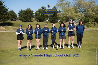 AG Girls Golf Team 2021
