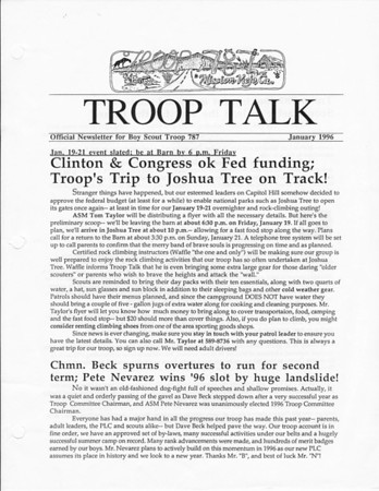 1996 Troop Talk