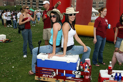 Garnet and Gold Tailgate 2008