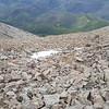 Spanish West Peak rock descent
