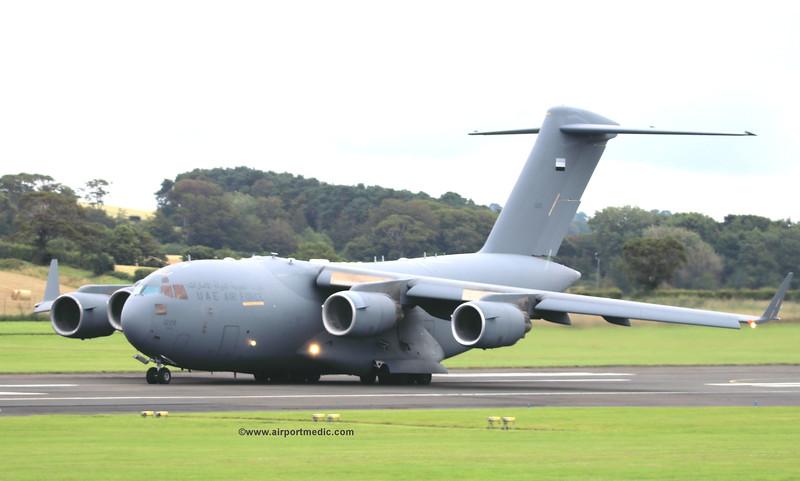 1228 C17 U.A.E Air Force @ Prestwick Airport (EGPK)