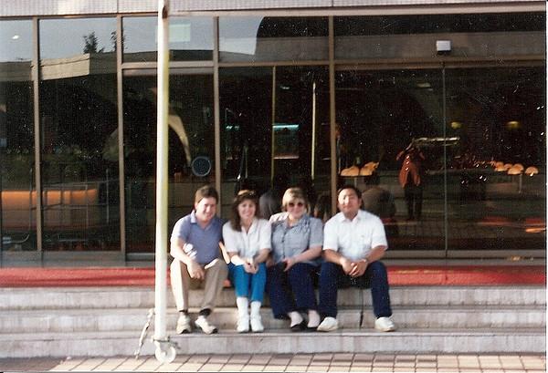 Singapore trip 1986