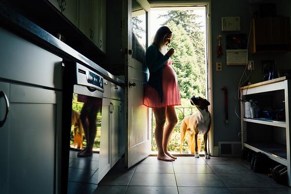 Merideth + 36 Weeks, Seattle Maternity
