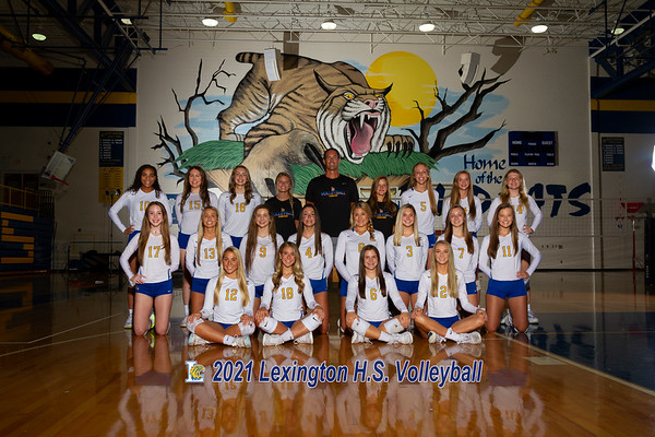 2021 Volleyball varsity