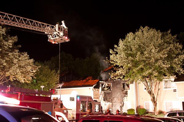 Orangeburg NY 3rd alarm, 1 Cortwood Village, 07-25-15