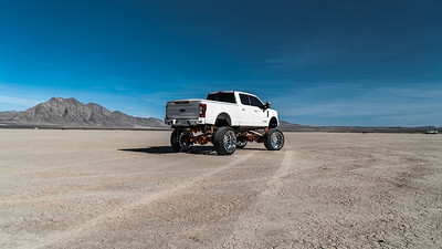 @Plan_B_Fab  @Rob_planb_pigue @Ford F250 featuring our 30x16 Polished #MORPH from our Concave Series wrapped in 42x16.5r30 @FuryOffroadTires