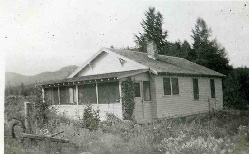 Home of Edwin and Nellie (Allen) Herdrich- Colville, Washington