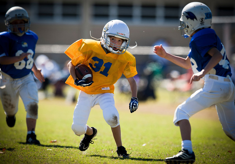 Grant running ball on frist pass and run.jpg